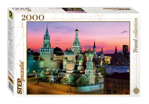 Step Puzzle 2000 - Saint Basil's cathedral, Moscow