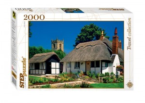 Step Puzzle 2000 - Cottage in Welford-on-Avon