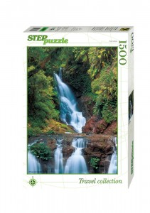 Step Puzzle 1500 - Waterfall