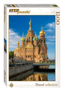 Step Puzzle 1500 - Church of the Savior on Blood