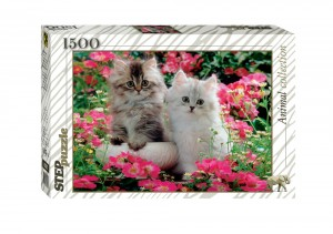 Step Puzzle 1500 - Kittens