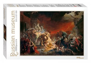 Step Puzzle 1000 - Russian Museum - Karl Bryullov. The Last Day of Pompei