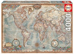 Educa 4000 - The World, Executive Map