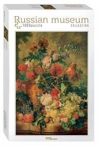 Step Puzzle 1000 - Russian Museum - Jan van Huysum. Flowers and Fruit