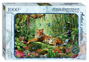 Step Puzzle 1000 - Tiger in the Jungle