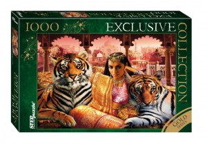 Step Puzzle 1000 - Gold Series - Indian Princess