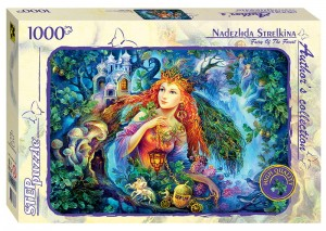 Step Puzzle 1000 - Nadezhda Strelkina - Fairy of the Forest