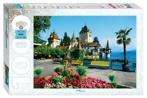 Step Puzzle 1000 - Oberhofen, Switzerland