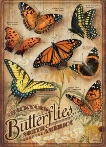 Cobble Hill / Outset Media  500 XXL Pieces - Backyard Butterflies