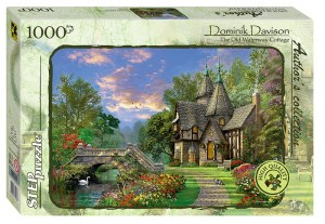 Step Puzzle 1000 - Dominic Davison - The Old Waterway Cottage