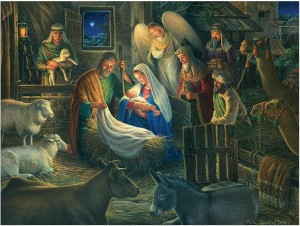 Cobble Hill / Outset Media  500 XXL Pieces - Away in a Manger