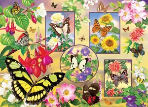 Cobble Hill / Outset Media  500 XXL Pieces - Butterfly Magic