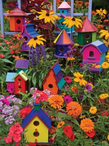 Cobble Hill / Outset Media  275 XXL Pieces - Birdhouses