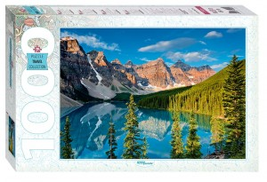 Step Puzzle 1000 - Moraine Lake, Canada