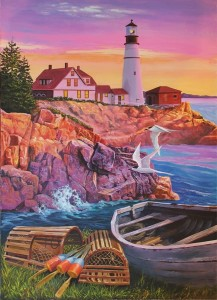 Cobble Hill / Outset Media  275 XXL Pieces - Lighthouse Cove