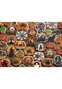 Cobble Hill / Outset Media  350 XXL Pieces - Halloween Cookies