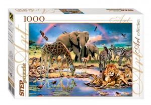 Step Puzzle 1000 - Savanna