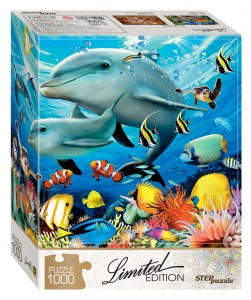 Step Puzzle 1000 - Undersea World