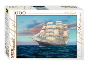 Step Puzzle 1000 - Sailing Ship