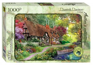 Step Puzzle 1000 - Dominic Davison - Cottage