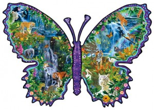 SunsOut 1000 - Alixandra Mullins - Rainforest Butterfly