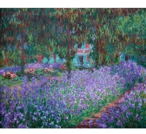 Impronte Edizioni 1500 - Claude Monet - Monet's Garden at Giverny