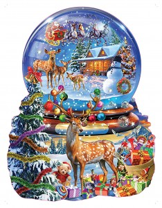 SunsOut 1000 - Adrian Chesterman - Christmas Snow Globe