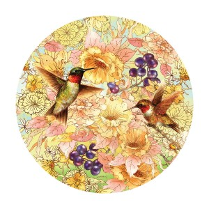 SunsOut 1000 - Giordano Studios - Hummingbirds and Berries