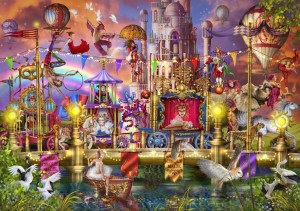 Bluebird Puzzle 1500, Ciro Marchetti, Magic Circus Parade