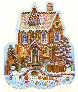 SunsOut 1000 - Wendy Edelson - Gingerbread House
