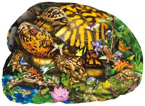 SunsOut 1000 - XXL Pieces - Lori Schory - Tortoise Crossing