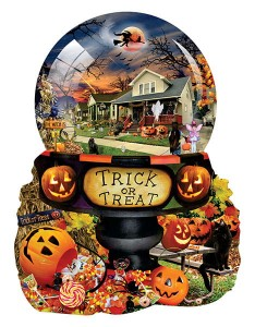 SunsOut 1000 - XXL Pieces - Lori Schory - Halloween Globe