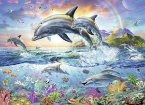 Ravensburger 100 - Coloring Booklet - Colorful Underwater World
