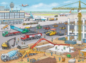 Ravensburger 100 - Construction Site at the Airport
