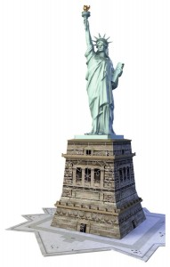 Ravensburger 108 - 3D Puzzle - New York: Statue of Freedom