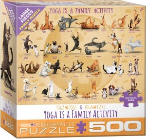 Eurographics 500 XXL - Yoga is A Family Activity