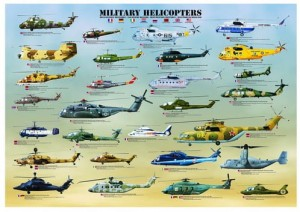 Eurographics 500 - Military helicopters