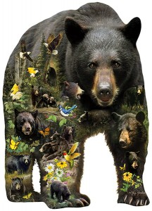 SunsOut 1000 - XXL Pieces - Greg Giordano - Forest Bear