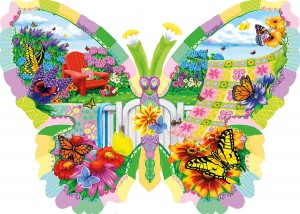 SunsOut 1000 - Nancy Wernersbach - Butterfly Summer