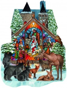 SunsOut 1000 - Parker Fulton - Forest Nativity