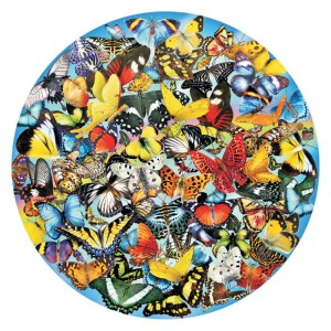 SunsOut 1000 - Lori Schory - Butterflies in the Round