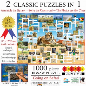 SunsOut 1000 - Irv Brechner - Puzzle Combo: Going on Safari