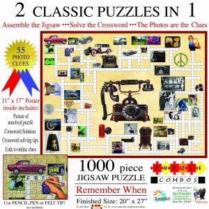 SunsOut 1000 - Irv Brechner - Puzzle Combo: Remember When