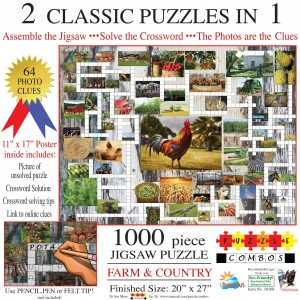 SunsOut 1000 - Irv Brechner - Puzzle Combo: Farm & Country