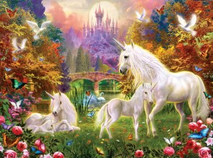 SunsOut 1000 - Jan Patrik Krasny - Castle Unicorns