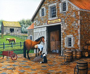 SunsOut 1000 - Don Engler - Coppery and Stables