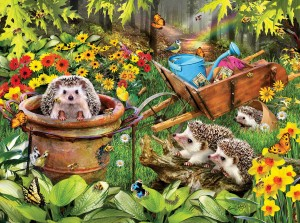 SunsOut 300 - Lori Schory - Hedgehogs and Bees