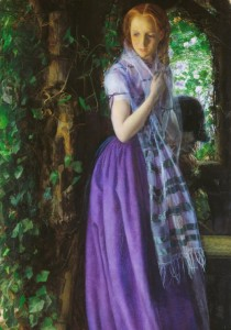 Grafika 1000 - Arthur Hughes, April Love, 1855