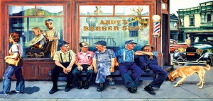 SunsOut 1000 - Les Ray - Andy's Barbershop Friends