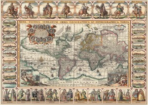 Art Puzzle 2000 - Ancient World Map
